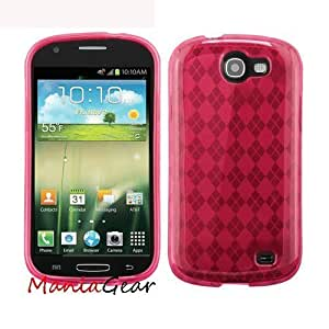 [ManiaGear] Hot Pink Flexie Soft Case For Samsung Galaxy Express i437 (AT&T)