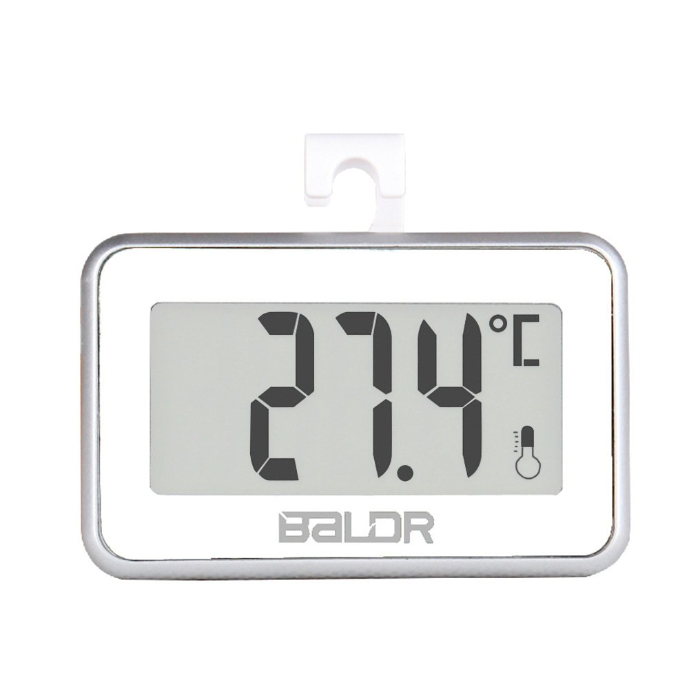 BALDR B0217T Refrigerator Thermometer, Black