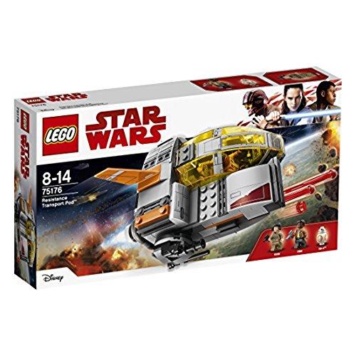 LEGO Star Wars Episode VIII: Resistance Transport Pod Costruzioni