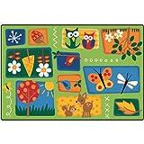 Carpets for Kids 3401 Nature's Toddler Carpet (4' x 6')