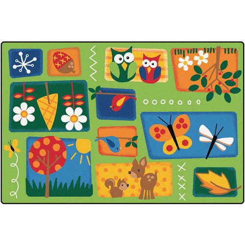 Carpets for Kids 3401 Nature's Toddler Carpet (4' x 6') by Carpets for Kids
