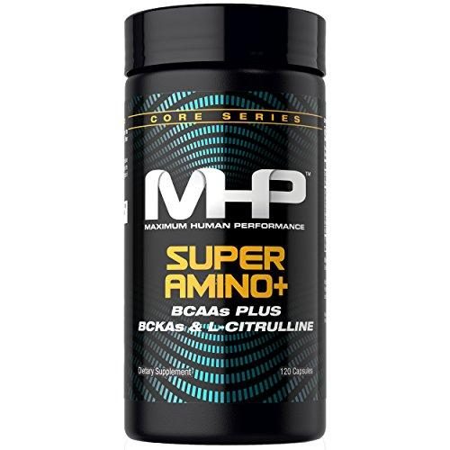 MHP Super Amino +, BCAAs Plus BCKAs & L-citruline, 120 Count