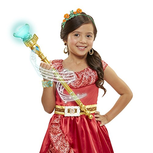 Elena of Avalor Disney Magical Scepter of Light with Sounds by]()