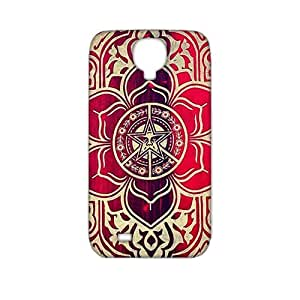 peace and justice obey Red star flowers 3D Phone Case for Samsung Galaxy s4