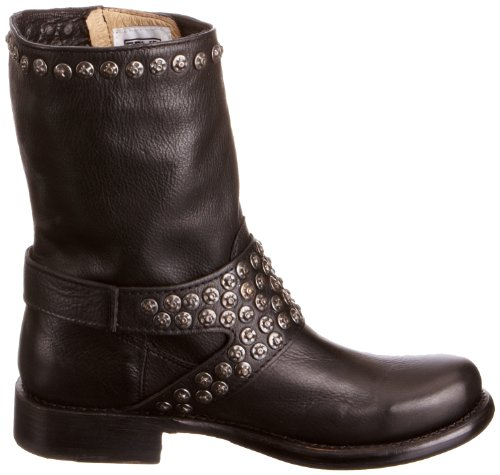 Frye Jenna Studdded Short, Stivali donna nero