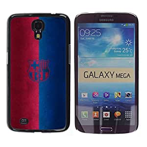 MOBMART Carcasa Funda Case Cover Armor Shell PARA Samsung Galaxy Mega 6.3 - Football Fan Club
