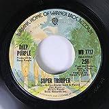 Deep Purple 45 RPM Super Trouper / Woman from Tokyo