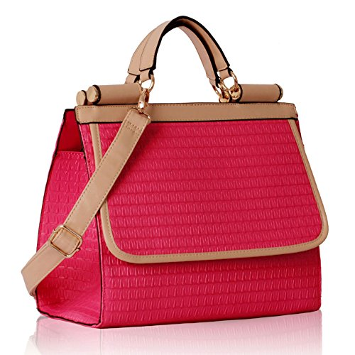 4c4b98b62711 Ladies Handbag Sale Clearance Shoulder Bags For Women Faux Synthetic Leather  Designer Tote Large New