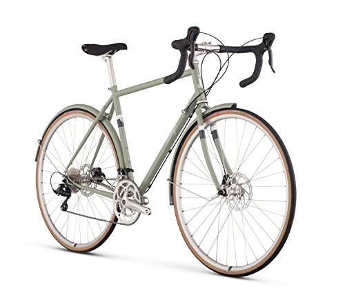 Raleigh Bikes Raleigh Clubman Road Bike, 50cm, Green, 50 cm / X-Small Accell North America -- Dropship