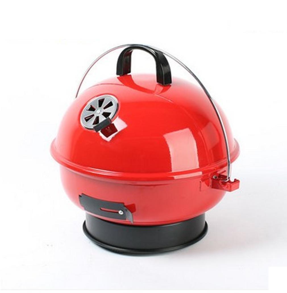 BBQER-A Portable Outdoor Grillen Grillen Sie einfach Kohle BBQ Ofen Edelstahl Ofen einfach reinigen