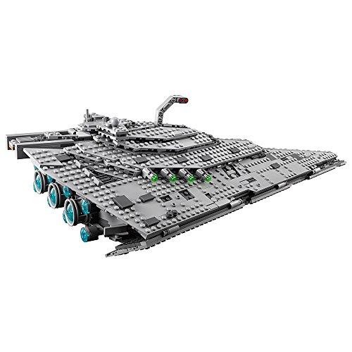 51rkwO3805L - LEGO Star Wars VIII First Order Star Destroyer 75190 Building Kit (1416 Piece)