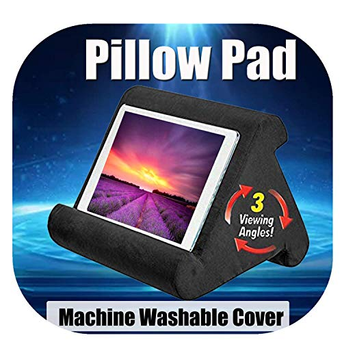 DaJun for ipadPillow Multi-Angle Soft Pillow Lap Stand -Pillow Tablet Stand Lap Stand for Ipad- Pillow Tablet for Tablets EReaders Smartphones Books Magazines