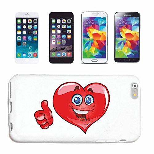 """cas de téléphone iPhone 7 """"COEUR SMILEY POUR LES AMOUREUX EMOTION """"SMILEYS SMILIES ANDROID IPHONE EMOTICONS IOS grin VISAGE EMOTICON APP"""" Hard Case Cover Téléphone Covers Smart Cover pour Apple iPhone"""