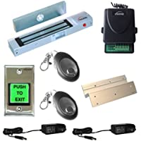 FPC-5007-VS One door Access Control Visionis Inswinging door 300lbs Electromagnetic lock kit with wireless receiver and remote kit