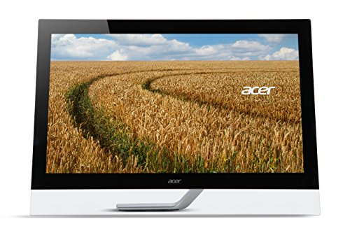 Acer T272HLbmjjz 69cm (27 Zoll) Monitor (VGA, HDMI mit MHL, USB, 5ms Reaktionszeit, Full HD, Touch) schwarz