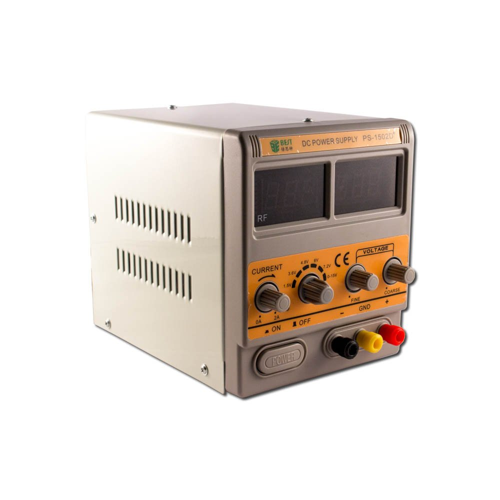 BST-1502D+ DC Regulated Power Supply - 15V, 2-Amp by Group Vertical (Image #2)