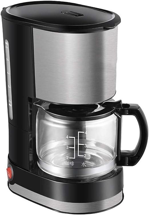 D-HD Cafetera, filtro de café de la máquina, de 600 ml Cafetera ...