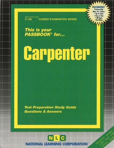 Carpenter(Passbooks) (Career Examination Series)