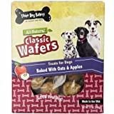Three Dog Bakery Classic Wafers Apple Oatmeal (16 oz) Review