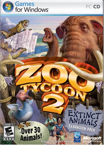 Zoo Tycoon Extinct Animals Expansion Pack