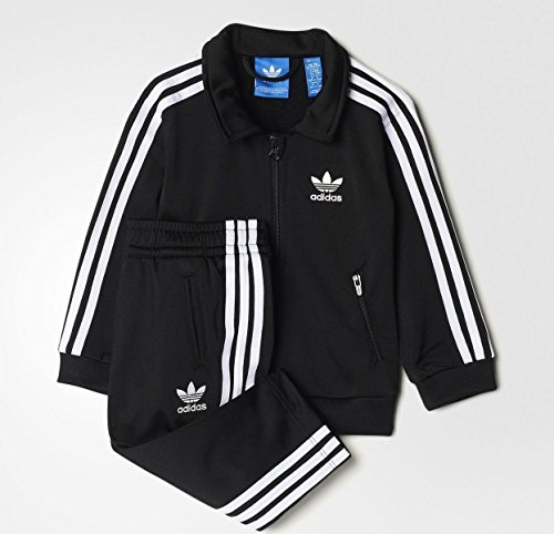 Embroidered Tracksuit - adidas Infant Firebird Trefoil Track Suit (9M)