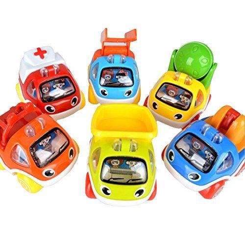 Ziyier G&E: Kids Pull back GOGO Vehicles Series (Pack of Six)