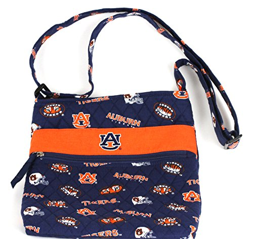 bagamore collection Auburn Tigers Sidewinder Bag-Auburn Quilted Bag-Auburn Hipster Bag