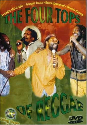 DVD : FOUR TOPS OF REGGAE - Four Tops Of Reggae (DVD)