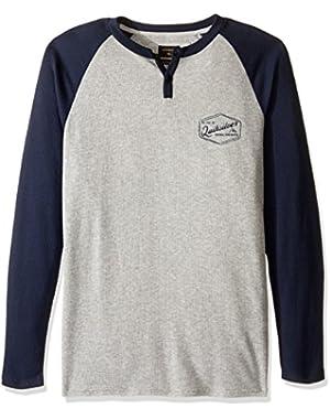 Men's Polar Waters Henley Baseball T-Shirt