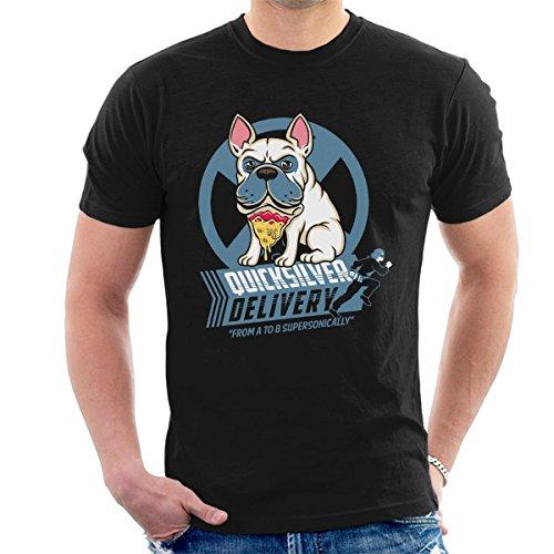 Cloud City 7 X Men Quicksilver Pizza Dog Men's T-Shirt