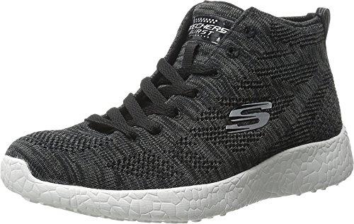 Skechers Burst (Black/White) - 2