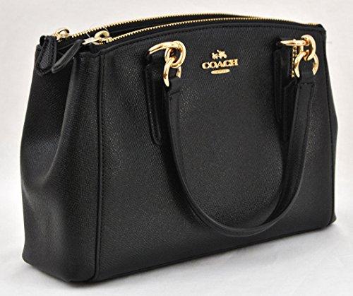 53a8a8b2 COACH Crossgrain Leather Mini Christie Carryall Crossbody - Import ...