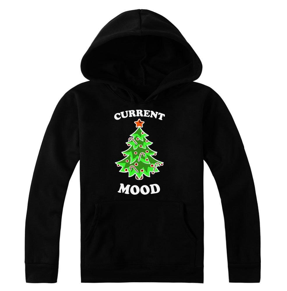 Idcommerce Current Mood Beautiful Christmas Tree Design Pullover 3931 Shirts