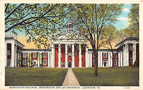 Lexington Virginia Washington and Lee University Vintage Postcard JB626236
