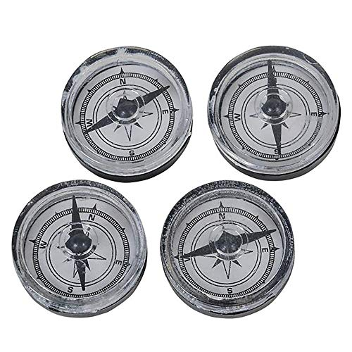 Toy Compass - 144 Pack of Reading Direction Apparatus, Explorer Toy Kit, Party Favors, Camping, Hiking,, Educational Gift