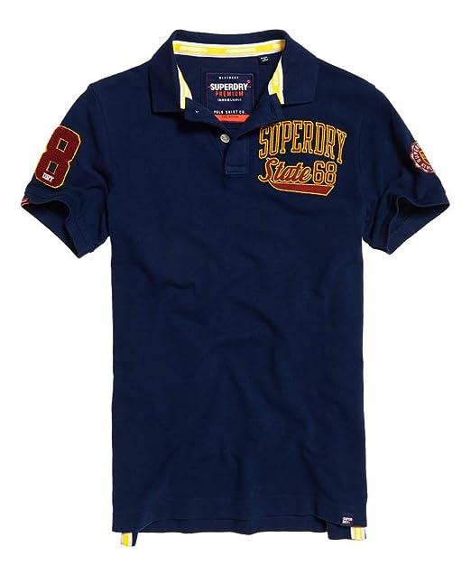 Superdry - Polo - para Hombre Sport Navy S: Amazon.es: Ropa y ...