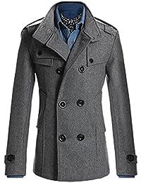 Amazon.com: Greys - Wool & Blends / Jackets & Coats: Clothing, Shoes & Jewelry