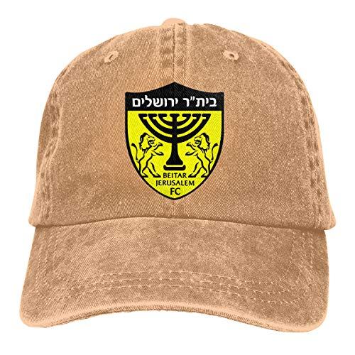 Beitar Jerusalem FC Unisex Adjustable Baseball Caps Denim Hats Cowboy Sport Outdoor
