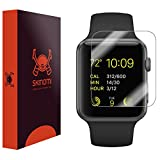 Apple Watch Series 1 Screen Protector (38mm)(6-Pack), Skinomi TechSkin Full Coverage Screen Protector for Apple Watch Series 1 Clear HD Anti-Bubble Film