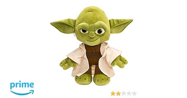 Star Wars Peluche de Yoda 45 cm Aterciopelado: Amazon.es: Juguetes y juegos