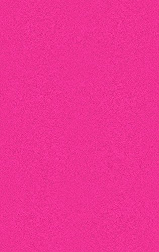 Hot Pink Contemporary Rug (Shag Area Rug, Contemporary Solid Color, Anti-Bacterial, Olefin Fiber, 39-Inch-by-39-Inch Square (3x3),)