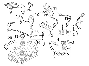 amazon.com: 2003-2006 & 2004-2006 jeep chrysler dodge 5.7l ... dodge 2006 4 7l engine diagram 4 7l engine diagram #6