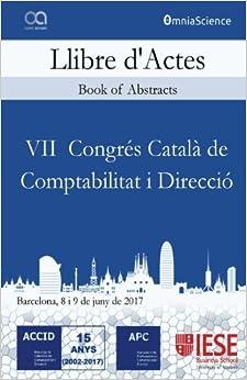 Llibre Actes VII Congrés Català de Comptabilitat i Direcció