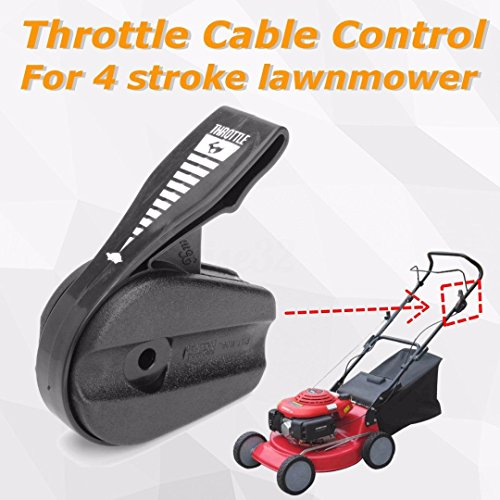 UTP Lawn Mower Throttle Cable Control for 4 Stroke ()