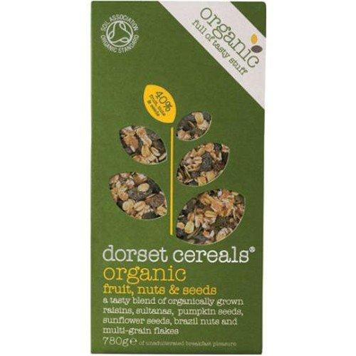 (2 Pack) - Dorset Cereal - Org Fruit Nut & Seeds Muesli   780g   2 PACK BUNDLE