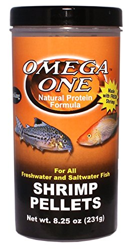 Omega One Shrimp Pellets 8.25oz. by Omega One