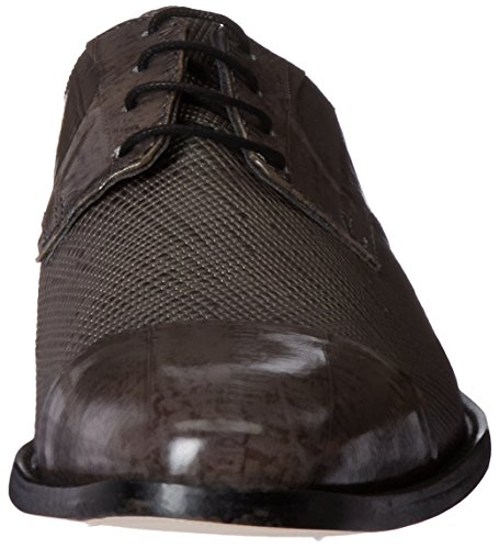 Stacy Adams Mens Gatto Lädersula Cap Toe Oxford Grå