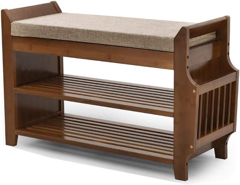 シューズベンチの交換シューズベンチの着用収納スツール収納スツール、純木製 (サイズ さいず : 78.5*29.5*49.5cm)