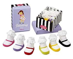 Trumpette–Calcetines para bebé 'jitter Burg Jenny' 0–12meses