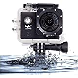WIFI Action Camera Waterproof Cameras - HD 1080P Underwater Camera Diving Camcorder with Mounts and Accessories for Kids, Snorkeling, Motorcycle, Bike, Helmet, Car, Ski and Water Sports